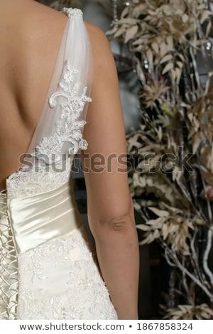 Close-up shot of corset lacing  Stock photo © Elisanth