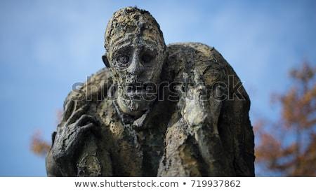Great Famine monument in Dublin Stock photo © alessandro0770
