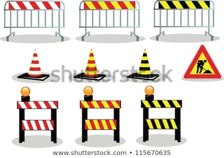 注意 · 道路標識 · 地図 · ベクトル · にログイン - ストックフォト © rastudio
