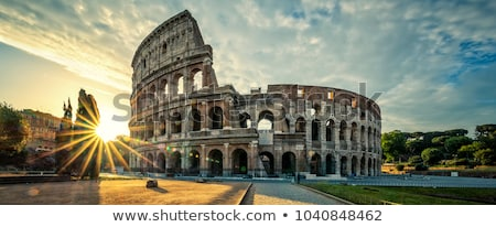 Rome at sunset, Italy Stock photo © joyr
