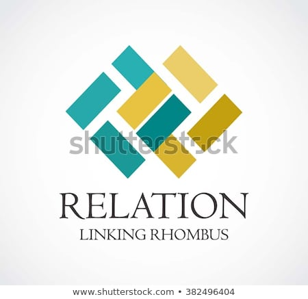 business logo. abstract square round loop shape symbol. vector illustration Stock photo © taufik_al_amin