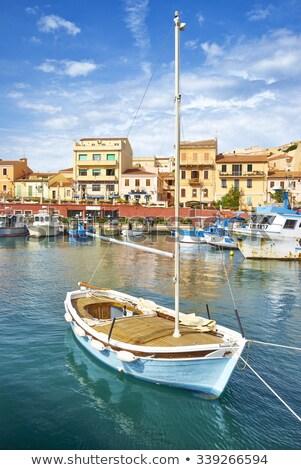 the city and island la maddalena Stock photo © compuinfoto
