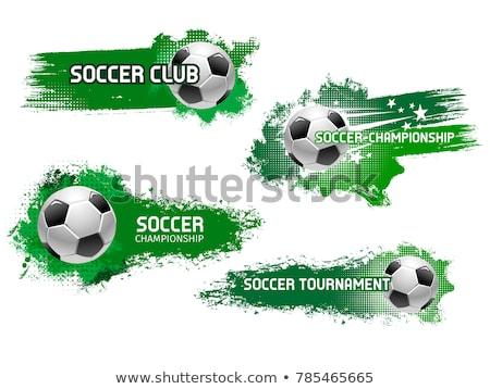 resumen · brillante · fútbol · campeonato · torneo · luz - foto stock © sarts