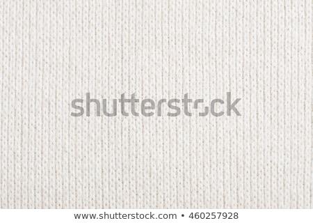 Gyapjú kötött szövet absztrakt textúra közelkép Stock fotó © OleksandrO
