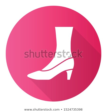 Elegant lady wearing stylish pink court shoes Stock photo © Giulio_Fornasar
