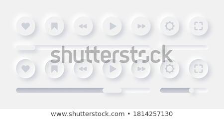 De audio blanco versión diseno vector Foto stock © smith1979