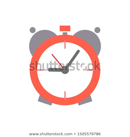 Old Round Alarm Clock with Mechanic System Inside Stock photo © robuart