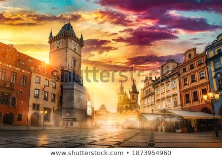 świątyni Praha wygaśnięcia budynku miasta Zdjęcia stock © Givaga