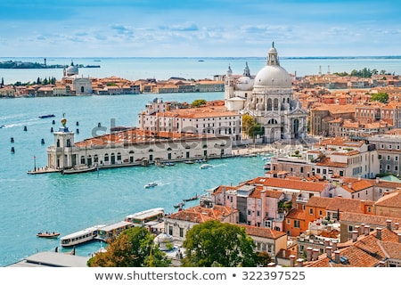 panorama view of the roofs of venice italy stock photo © karandaev