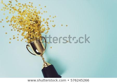 Irányítás arany díjak verseny nyerő csészék Stock fotó © robuart