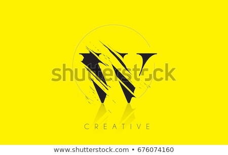 yellow icon w letter logo vector element Stock photo © blaskorizov