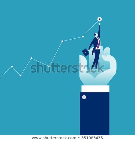 Business succes winst Zoek economisch strategie Stockfoto © Lightsource