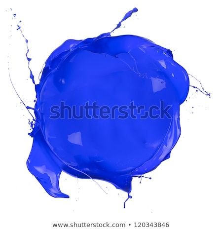 Blue Blob Isolated Stock photo © cammep