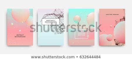 Moderno colorido partícula abstrato fundo cor Foto stock © SArts