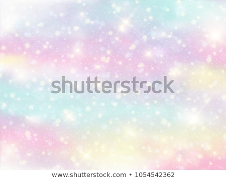 Abstract Rainbow bokeh design sfondo verde Foto d'archivio © Glasaigh