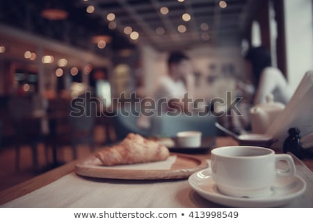relaxing in cafe stock photo © pressmaster