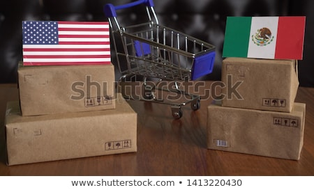 Stock photo: Mexico US Trade War