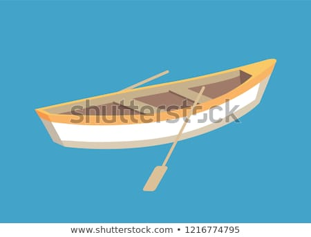 Marine Nautical Personal Fishing Ship Sail Boat Stock photo © robuart