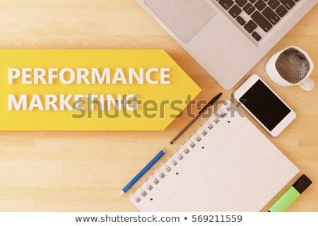 Reklamy online marketing internetowy reklama Internetu wektora Zdjęcia stock © robuart