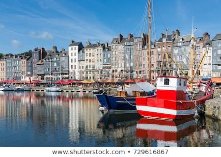 old port in Honfleur, France Stock photo © borisb17