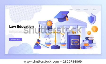 Coding Discipline in School or University Course Stock photo © robuart