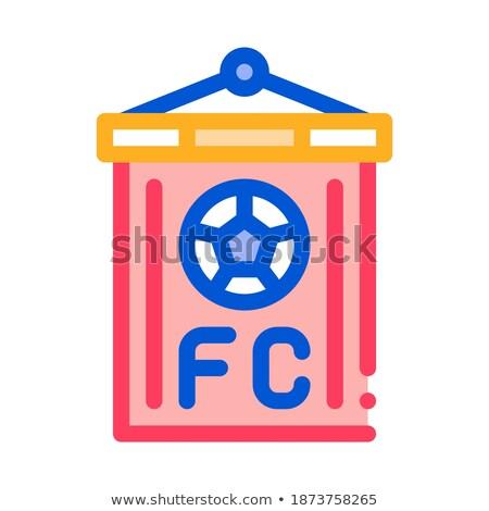 football · tableau · de · bord · icône · illustration · vecteur - photo stock © pikepicture