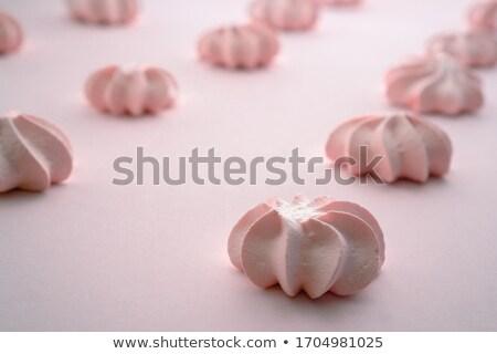 Francês sobremesa chá da tarde sanduíche rosa Foto stock © grafvision
