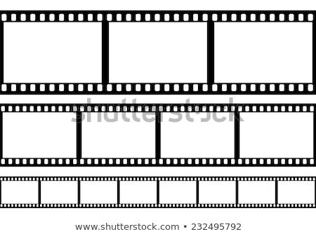 Bioscoop film filmstrip ontwerp achtergrond frame Stockfoto © SArts