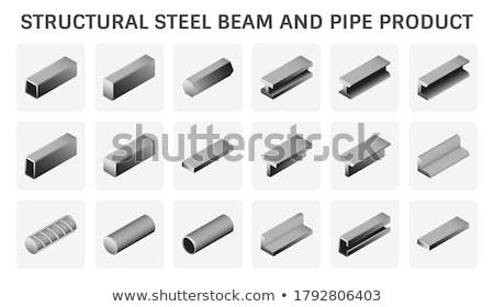 Steel I-shaped beams Stock photo © nuttakit