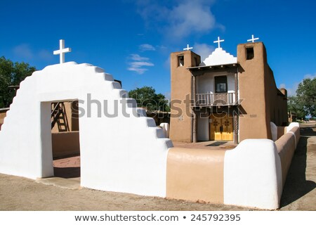 San Geronimo Chapel Stock photo © CrackerClips