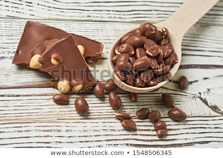 chocolate with filbert Stock photo © Masha