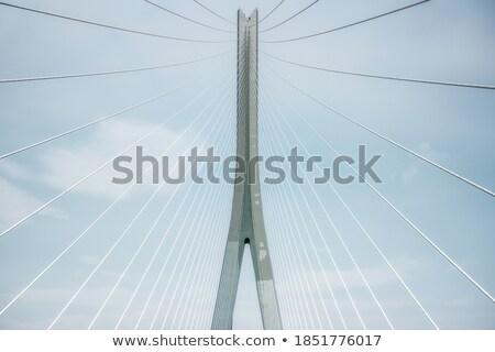 cable-stayed bridge  Stock photo © Iscatel