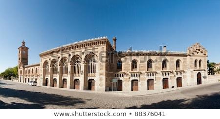 zmierzch · Hiszpania · Cityscape · Madryt · domu · miasta - zdjęcia stock © hasloo