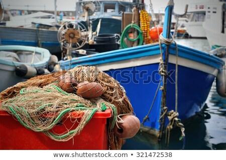 рыбалки лодках небольшой порт известный древних Сток-фото © Antonio-S