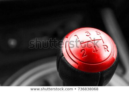 Kırmızı dişli ayrıntılı görmek sanayi araçları Stok fotoğraf © frank11