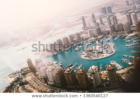 Business district of Doha Stock photo © Komar