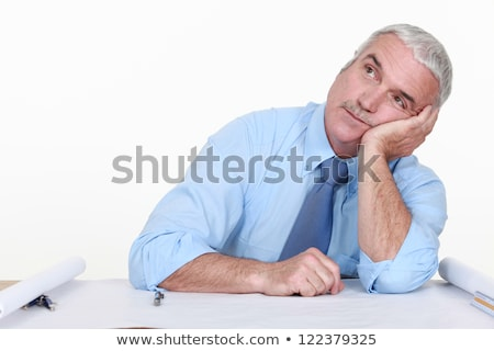 Bored architect staring off into space Stock photo © photography33