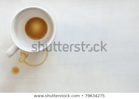 Сток-фото: Grunge Timber With Coffee Cup And Stains