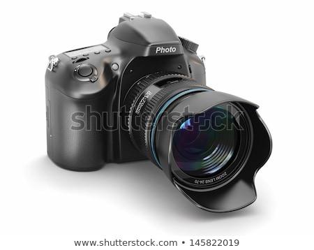 digital SLR camera isolated on white Stock photo © mitay20
