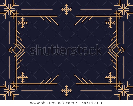 deco snowflake Stock photo © prill