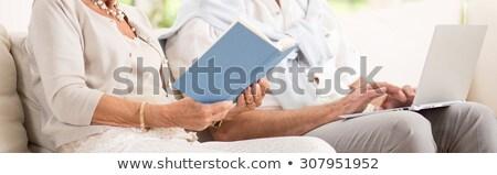 отставку женщину свободное время стороны лице свет Сток-фото © photography33