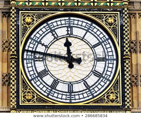 ビッグベン 時計 建物 クロック 時間 ストックフォト © haiderazim