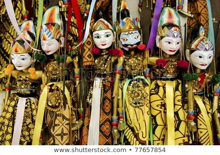 Traditionnel bali Indonésie bois bois Asie Photo stock © travelphotography