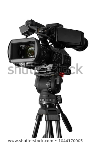 high-definition camera isolated on a white background Stock photo © ozaiachin