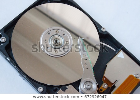 sabit · disk · detay · sabit · disk · sürmek · iç - stok fotoğraf © prill
