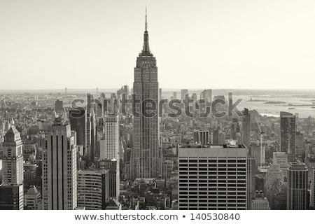 The Chrysler Building and Empire state building, Manhattan Stock photo © mikdam