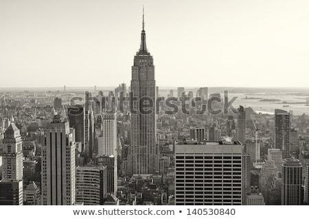 Edifício Empire State Building manhattan Foto stock © mikdam