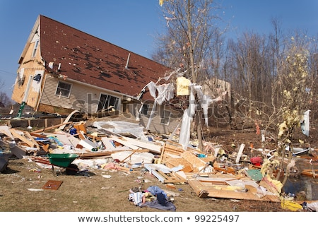 tornado aftermath in lapeer mi stock photo © gabes1976