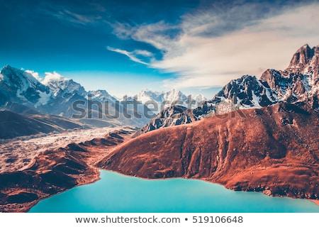 Himalaya Nepal valle Monte Everest panorama Foto d'archivio © THP