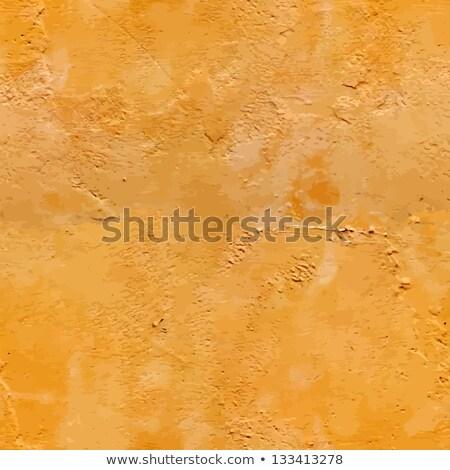 бесшовный текстуры оранжевый штукатурка стены декоративный Сток-фото © tashatuvango